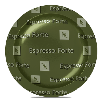 Espresso Forte - sustainable gourmet coffee - Nespresso Professional