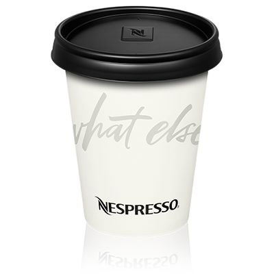 Recyclable Paper Cup Latte - Nespresso Professional