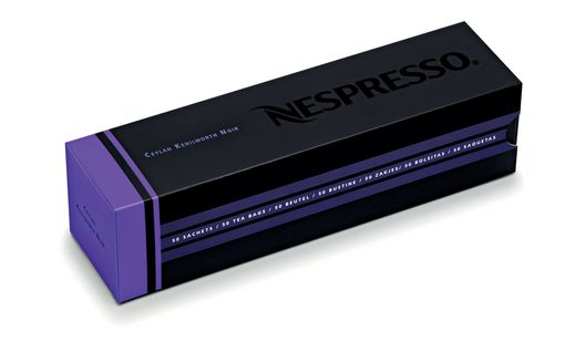 Exclusive black tea - Ceylan Kenilworth - Nespresso Professional